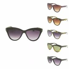 Women's Large Fashion Cat Eye Isabell Sunglasses Rockabilly Cut Tip 60's