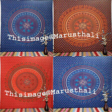 Indian Mandala Tapestry Parrot Wall Hanging Bohemian Queen Bedspread Wall Decor