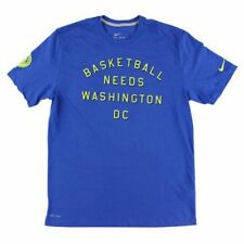 Nike Men's Dri-Fit Basketball Needs Washington DC T-Shirt Blue NWT S/ XL/ 2XL