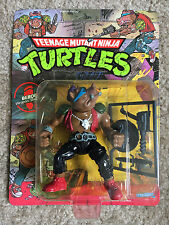 "Vintage 1988 Teenage Mutant Ninja Turtles TMNT ""BEBOP"" MOC-Unpunched"
