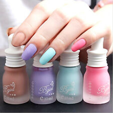 10ML Fashion Matte Nail Polish Lasting Unbreakable Lady Nair Art DIY Nail Polish