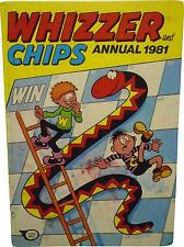 USED Whizzer And Chips Annual 1981 (D.T)