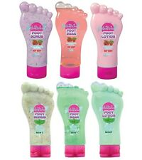 Foot Factory Pedicure Lotion ,Scrub,Soak,Gel,Spritzer,Cream,Mint,Very Berry Sets