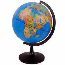 LARGE  Rotating Earth Globe Atlas Map Educational Toy Ornament Decor Gift UK