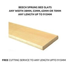 Replacement Broken Curved Arch Bent Wooden Beech Sprung Bed Slats Slates Spares