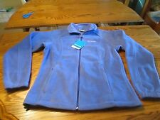 "COLUMBIA ""JUNE LAKE"" WOMENS FLEECE JACKETS TEAL  BLUE SIZES M OR L, NWT"