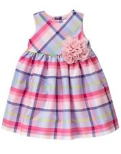 NWT Gymboree Family Brunch Plaid Dress Baby Toddler Girls Easter 0,3,6,12,18,24
