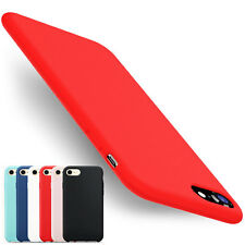 Thin Silicone Leather Full Protective Case Phone Cover for iPhone 6s 7 Plus Skin