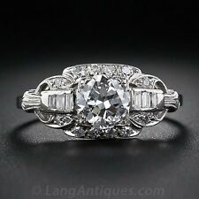 Women 2.3CT White Topaz 925 Silver Jewelry Ring Wedding Engagement Ring Size6-10