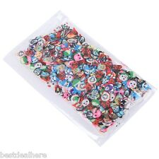 Nail Art Transfer 50 Sheets Stickers Rods 3D Sticks Manicure Decoration Tips