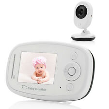 2.4-inch TFT LCD Wireless Digital Video Baby Monitor Night Vision Two Way Talk