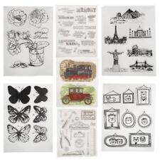 Transparent Silicone Rubber Clear Stamps for Scrapbooking Embossing DIY Decor