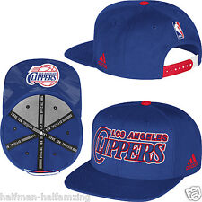 NEW! Los Angeles Clippers Adidas 2014 NBA Draft Snapback Cap Hat- Blue NWT