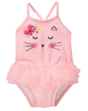 NWT Gymboree Baby Girls Kitty tutu Swimsuit 0 3 6 12 18 24months