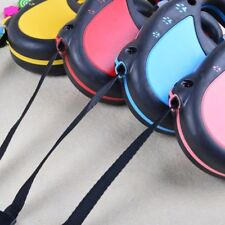 3M Flexi Retractable Dog Leads Tape Cord Neon Classic Extending Lead UK Stock SQ