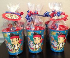 🎉Jake And The Neverland Pirates Party Favors Filled Souvenir Cups Goodie Bags