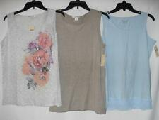 New Women's Coldwater Creek Blouses - 3 Styles! - Sizes: M, L - NWT ($39-44.95)