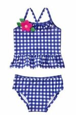 NWT Gymboree Girls Gingham Swimsuit Toddler 6-12 18 M 3T,4T UPF 50+