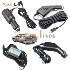 Mini USB DC 5V 2A Power Charger Adapter Cord Cable 1.2m/3m/3.5m For Car DVR GPS
