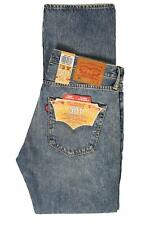 Mens Levis 501 2465 Straight Leg Button Fly Blue Crosby Jeans