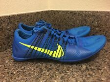 NIKE Zoom Victory 2 Flywire Track Spikes Blue/Volt/Black 555365-470 Sz 13