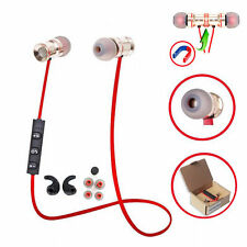 Red MD53 In-Ear Sports Bluetooth Headphone Headset Earphone For Call Phone Sony