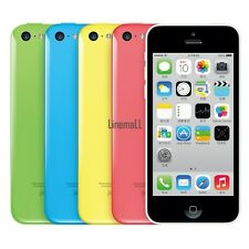"""Apple iPhone 5C-8GB 16GB 32GB GSM """"Factory Unlocked"""" Smartphone Cell Phone LM"""