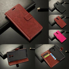 Luxury Flip Wallet Magnetic Card Leather Stand Case Skin Cover For Huawei Phone
