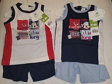 Disney Baby Clothing Boys  Shorts Set New With Tags....