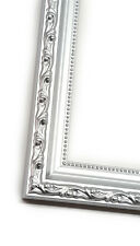 Silver Solid Wood Ornate Picture Photo Frame