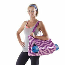 Lotus Deluxe Yoga Tote Bag 24 Inch - Choose From Pink or Green (NEW)