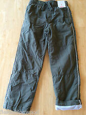 NWT Gymboree Boys Pull on Fleece lined Athletic Pants 5,6 Arctic Explorer