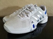 MEN'S ADIDAS BARRICADE ANDY MURRAY  (WHITE/SILVER) TENNIS SHOES