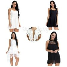 Women Summer Casual Sleeveless Dresses Party Cocktail Formal Short Mini Dress