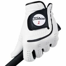 Titleist Mens Players-Flex Golf Gloves Left Handed White And Black M-XL NWT