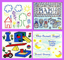 """BABY - TODDLER THEME FRANCES MEYER JUMBO STICKERS -  4-1/2 X 5"""" SHEETS"""