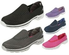 Ladies Skechers 'Go Walk 3' GoGa Mat Slip On Pumps 13980