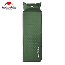 Self Pad Mat Inflatable Sleeping Mattress Air Inflating Camping Bed Pillow New