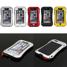 Love Mei Metal Shock Water Dust Proof Case With Gorilla Glass For iPhone 6&6Plus