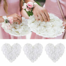 1000pcs Silk Flower Rose Petals Wedding Party Decoration White Favors Decor
