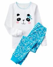NWT Gymboree Gymmies Girls Panda Pajamas PJs 2T,3,5,6,7,8,10