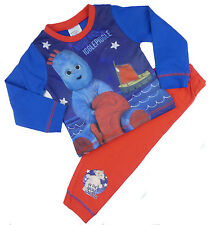 Toddler Boys In The Night Garden Pyjamas Iggle Piggle Boat 12-18M To 3