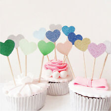 New Heart Cake Topper Party Supplies Cupcake Toppers Toothpicks Cake Decorating
