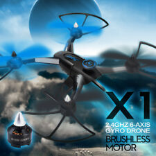 JJRC X1 RC Drone 2.4G 4CH 6-Axis RC Quadcopter with D1806-2280KV Brushless Motor