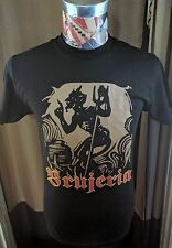 NEW BRUJERIA WITCHCRAFT MEXICAN SPANISH DEVIL SATAN BLACK BAND T SHIRT