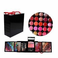 Pro 177 Color Eyeshadow Palette Blush Lip Gloss Makeup Beauty Cosmetic Set EW
