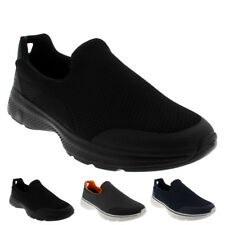 Mens Skechers Go Walk 4 Incredible Fitness Athletic Shoes Trainers All Sizes