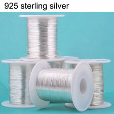 100cm 925 Sterling Silver Thread String Cord Wire DIY Jewelry Beading Craft NEW