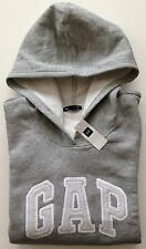 Womens GAP Stripe LOGO GRAY HOODIE SWEATSHIRT Sizes XS, S, M, L, XL, 2XL - NWT