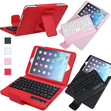 PU Leather Case Cover / ABS Wireless Bluetooth Keyboard For iPad Mini 4 3 2 1